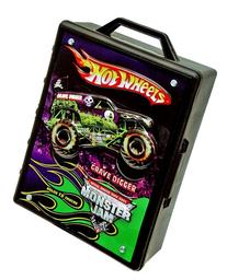 Hot Wheels Monster Jam 15- Truck Storage With Carrying