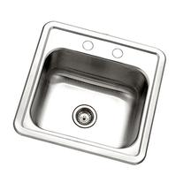 Houzer 1515-6BS-1 Hospitality Series Topmount Stainless