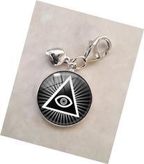 Illuminati .925 Sterling Silver Charm