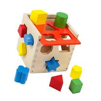 Wooden Wonders Smart Shapes Sorting Cube  by Imagination