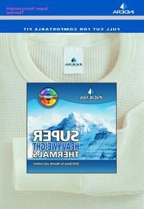 Indera - Mens Ultra Heavy Weight Thermal Pant 822DR, Natural