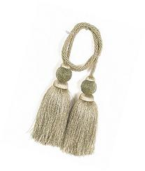 India House Chair Tie Tassels with 27-Inch Cord Dholak, 5.5-
