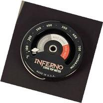 Inferno Stove Top Meter  thermometer measures temperatures