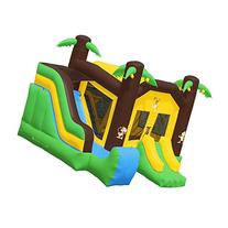Inflatable HQ Commercial Grade Jungle Bounce House 100% PVC