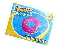 Inflatable Strawberry Frosting Donut Pool Tube