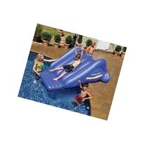 Inflatable Swimming Pool Water Slide Blue 8ft