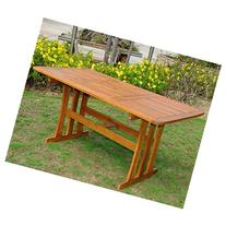 Acacia Rectangular Dining Table