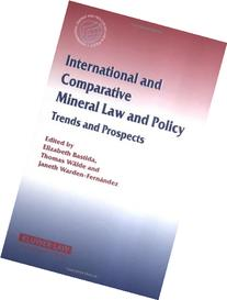 International and Comparative Mineral Law and Policy Vol. 21