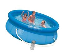 "Intex Easy Set 10' X 30"" Swimming Pool with Filter Pump &"