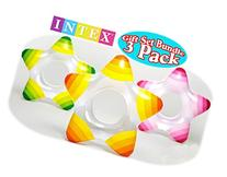 Intex Star Inflatable Swimming Pool Tube Raft Swim Rings   