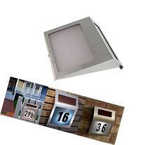Intsun® Solar Powered Stainless Steel LED Doorplate Lamp
