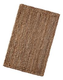 Iron Gate Handspun Jute Area Rug 2x3 Hand woven by Skilled