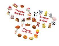 Iwako Japanese Eraser Dessert / Animal / Burger Shop / Each