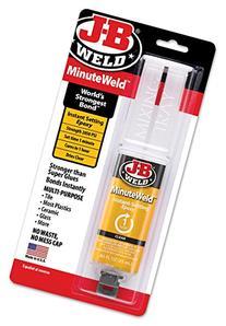 J-B Weld 50101 MinuteWeld Instant-Setting Epoxy Syringe -