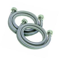 JMF Manufacturing Stainless Steel Braided 4' Washer Fill