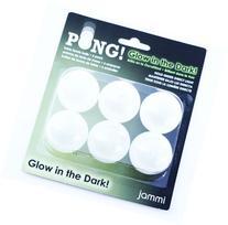 Jammi Glow Ping Pong Balls, 3-Pack