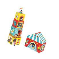 Janod MultiKub Circus Stacker with Figures