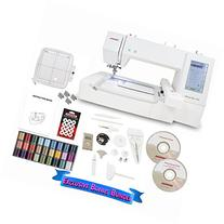 Janome Memory Craft 400E Embroidery Machine with Exclusive