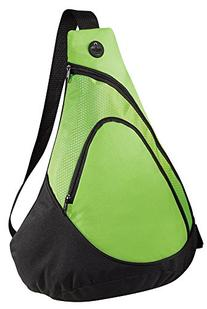 Joe's USA - Honeycomb Textured Sling Packs in Lime