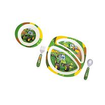 John Deere's Johnny Tractor and Friends Feeding 4 Piece Set