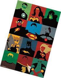 "Justice League, Minimalist, 22"" x 34"", Wall Poster"