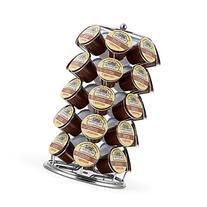 K Cup Holder,Oak Leaf Coffee Storage Spinning Carousel