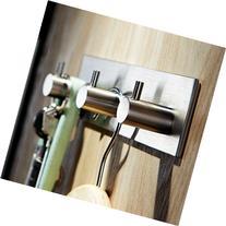 KES Bathroom Lavatory Self Adhesive Coat and Robe Hook Rack/