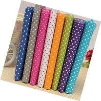 KINGSO 7PCS Cotton Fabric Bundles Quilting Sewing DIY Craft