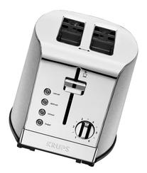 KRUPS KH732D Breakfast Set 2-Slot Toaster with Brushed and