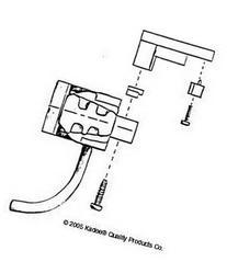 Kadee 1783 G Scale LGB Unitah Tender Coupler