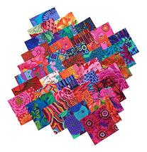 Kaffe Fassett Collective BOLD BRIGHT Precut 5-inch Cotton