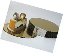Katgely Gold Cake Board Circle 10 Inch Diameter Give an