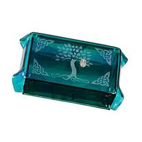 Kheops International - Glass Tarot Cards Box Celtic Tree of Life with Owl OC
