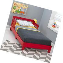 KidKraft Toddler Houston Bed, Red
