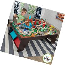 KidKraft Waterfall Station Train Set and Table