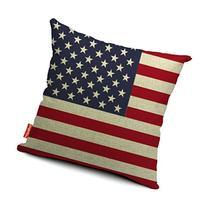 Kingla Home Square Cotton Linen Sofa Cushion Covers