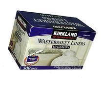 Kirkland Signature 10-Gallon Wastebasket Liners, 500 Bags