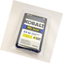 Kobalt 40v Max Li-Ion 2.0 Ah Quick Charge Battery