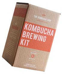 The Kombucha Shop Kombucha Brewing Kit with 1 Gallon Glass