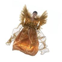 Kurt Adler UL 10-Light African American Angel Christmas