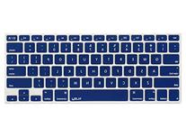 Kuzy - NAVY BLUE Keyboard Cover Silicone Skin for MacBook