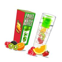 LA Organics Fruit Infuser Water Bottle - 100% Leak Proof and