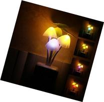 LED Night Light Mushroom Lamp by Baby Bits