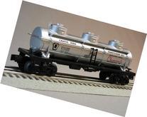 LIONEL PRR THREE DOME TANKER PENNSYLVANIA SALT CO 4727 train