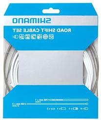 2013 Shimano Road Bike PTFE Gear Cable Set White