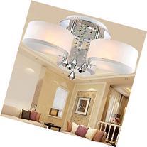 LOCO LED Modern acrylic crystal chandelier 3 lights  ,