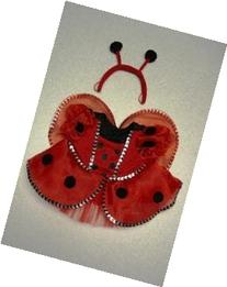 Ladybug Costume with Wings Outfit Teddy Bear Clothes Fit 14