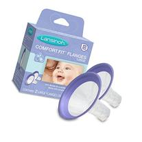 Lansinoh Pump Parts, Comfortable Breast Pump Flanges, 2 Large Size  for Use with any Lansinoh Breast Pumps