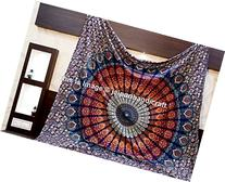Large Buddhist Mandala Tapestry Hippie Hippy Wall Hanging