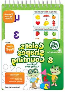 LeapFrog Colors, Shapes and Counting Dry Erase Activity Book